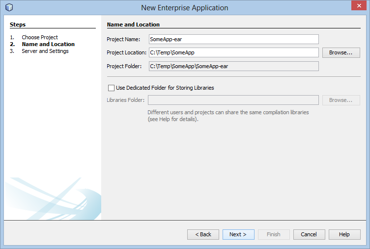 New Enterprise Application